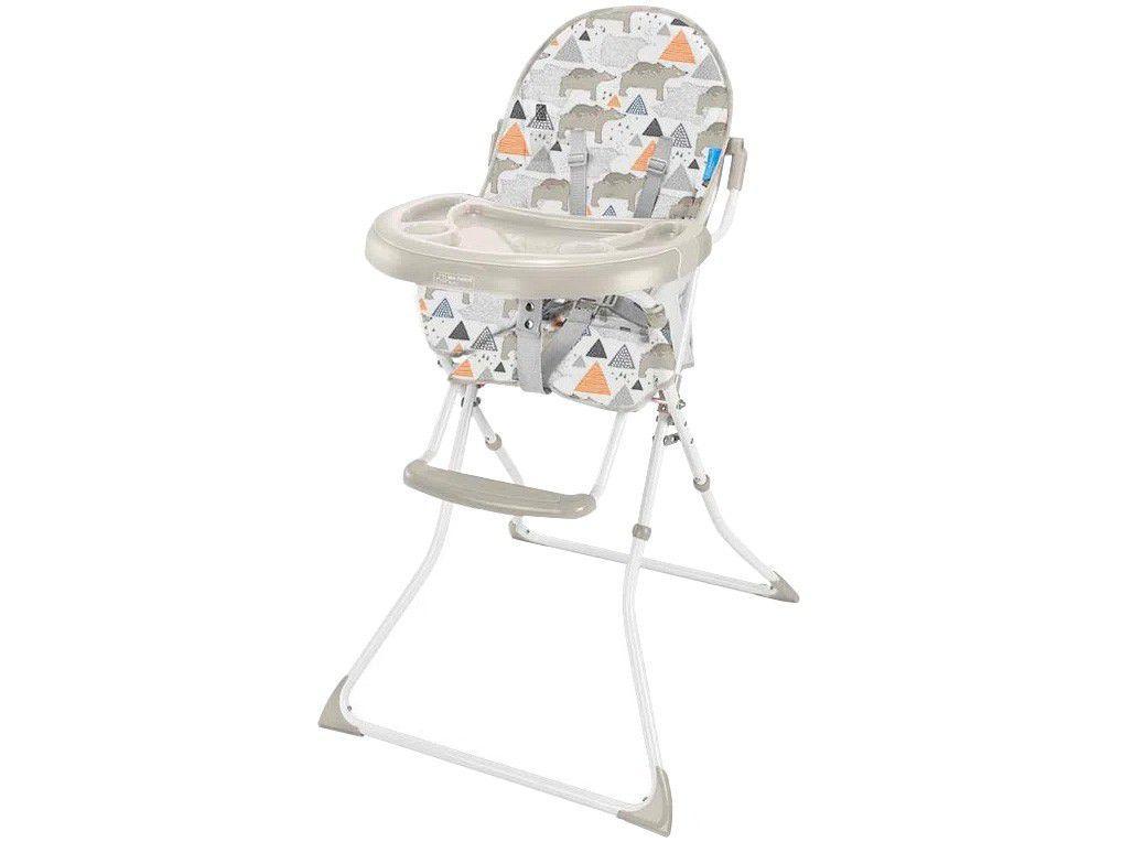 Cadeira de Alimentação Alta Multikids Baby - Slim Ursos 1 Posição de Altura 15kg