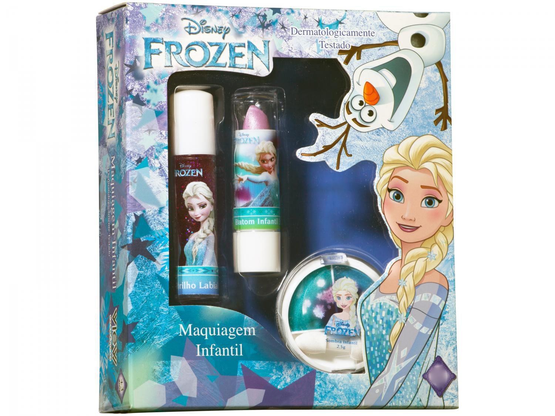 Kit Maquiagem Infantil Elsa View 3 Peças