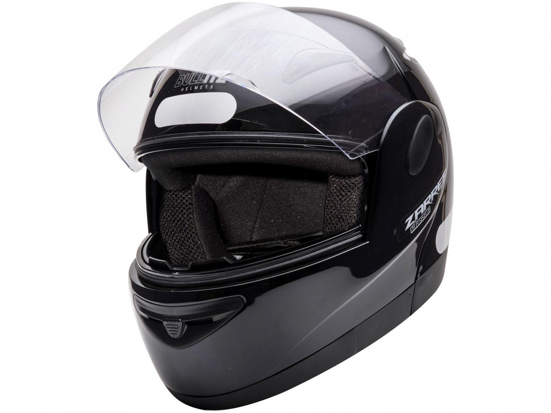 Capacete de Moto Fechado Taurus Zarref - V4 CLASSIC Preto Tamanho 56