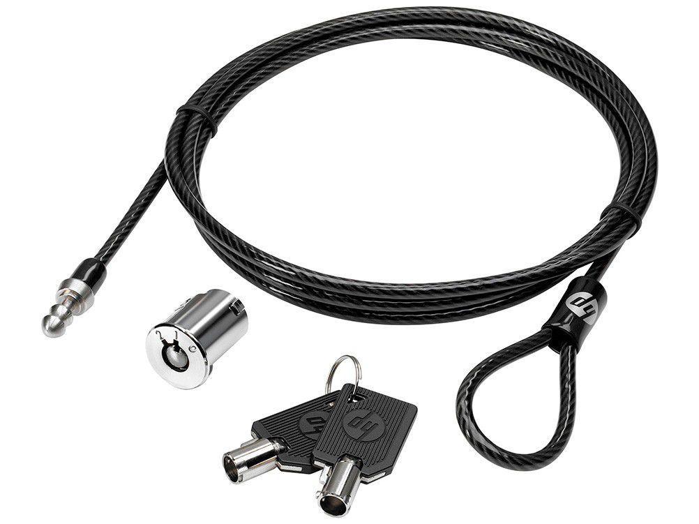Trava de Segurança para Notebook com Chave - HP 1,80m AU656AA
