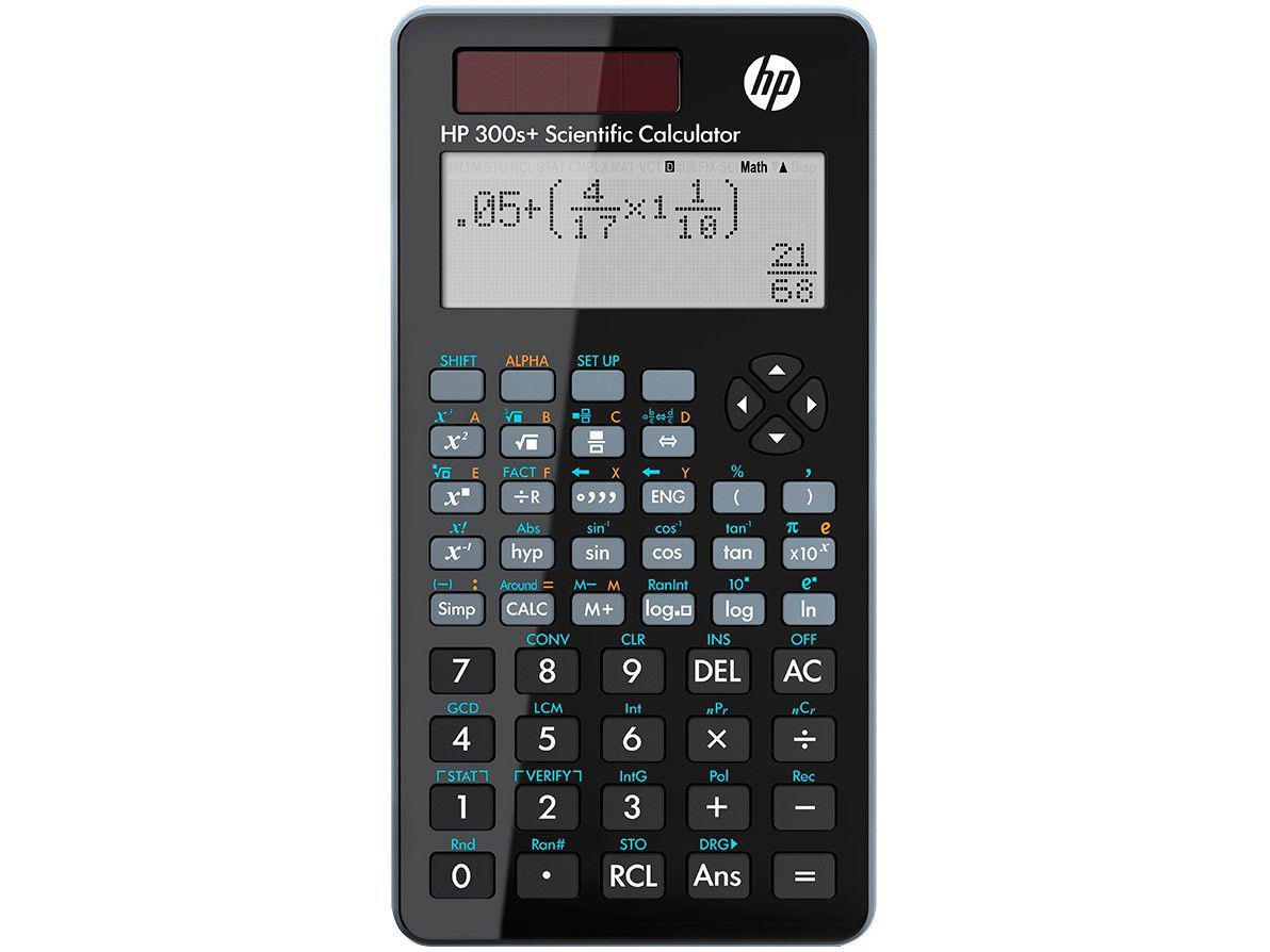 Calculadora Científica HP 15 Dígitos 315 Funções - 300S+ Preta