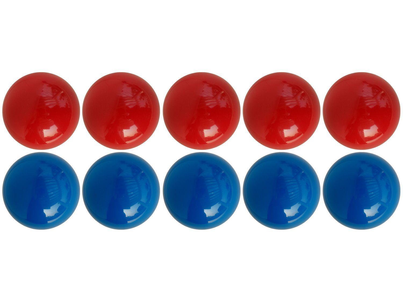 Jogo de Bola para Sinuca Bilhar Snooker Lisa - 50mm Procópio Mata-Mata 10 Unidades