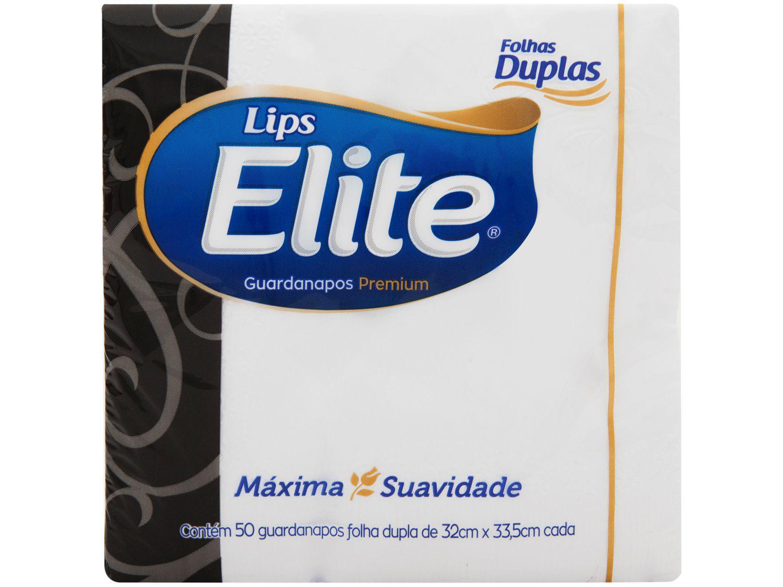 Guardanapo Folha Dupla Elite Lips 50 Unidades