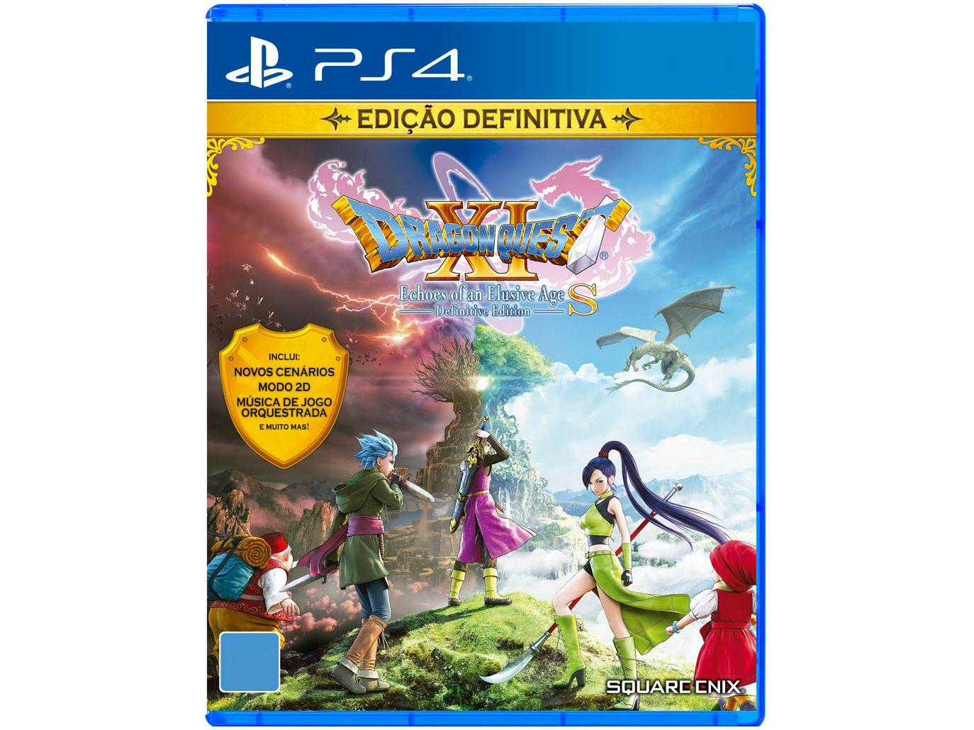 Dragon Quest XI S Echoes of an Elusive Age - Definitive Edition para PS4 Square Enix