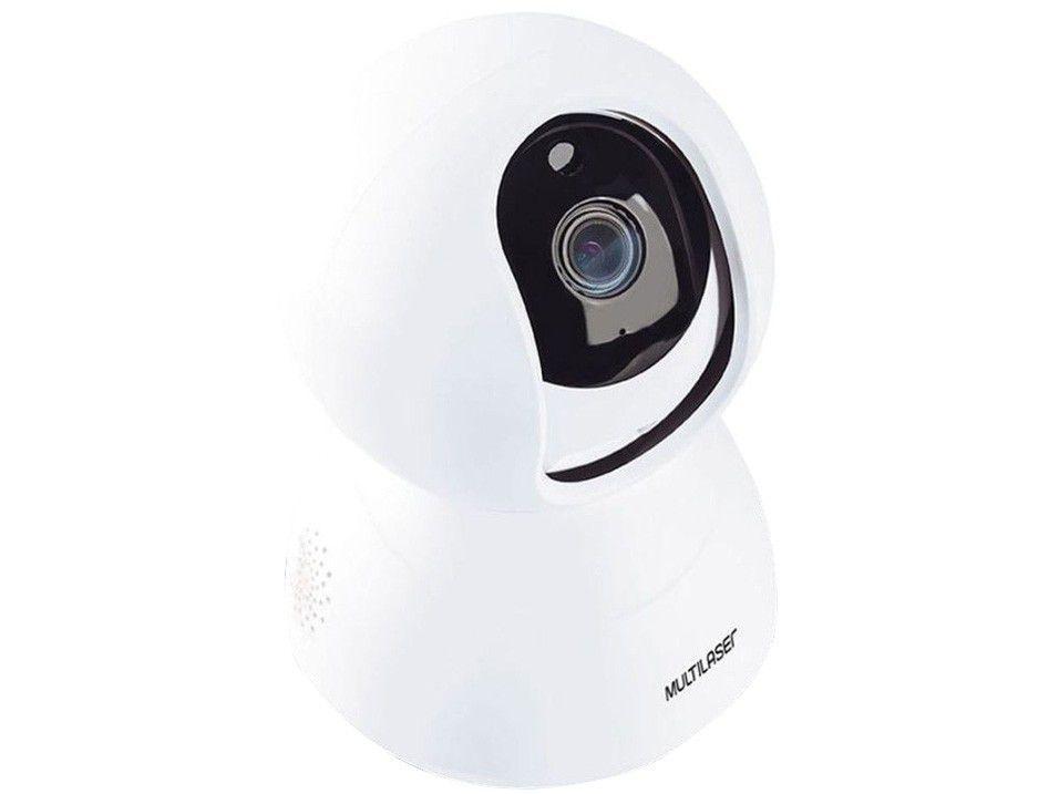 Câmera de Segurança Inteligente Wi-Fi Multilaser - Full HD Interna LIV SE221
