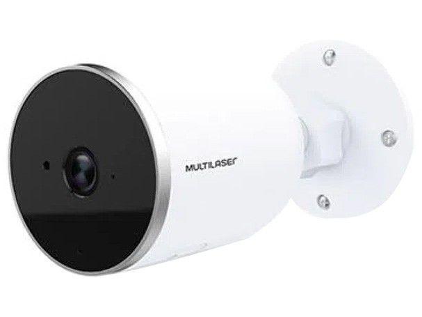 Câmera de Segurança Inteligente Wi-Fi Multilaser - Full HD Interna e Externa LIV SE222