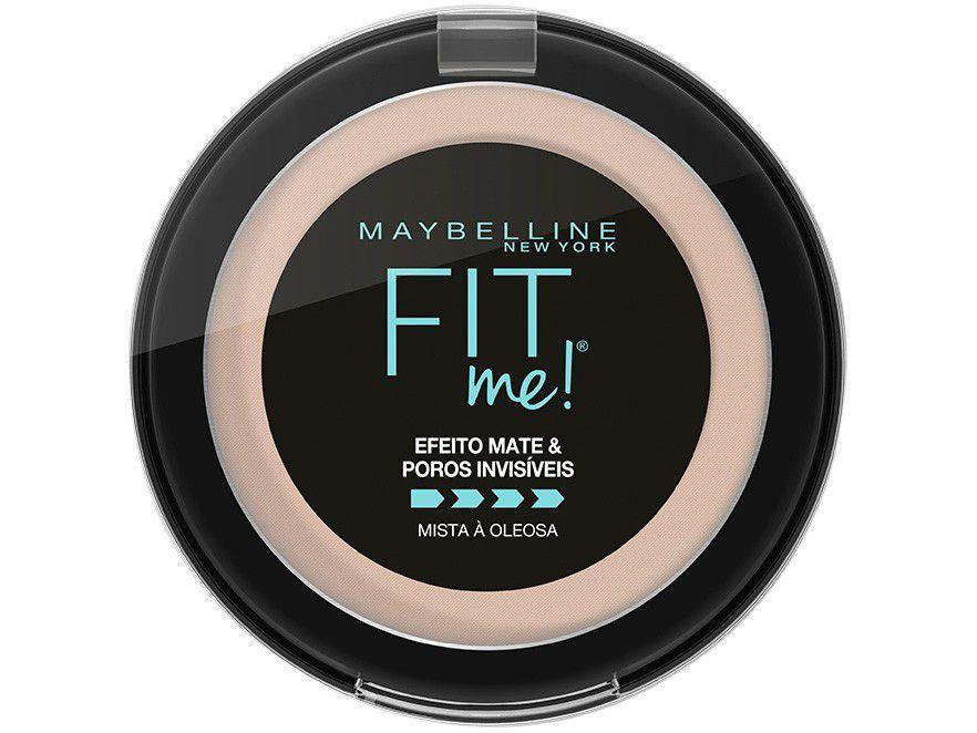 Pó Compacto Matte Maybelline NY Fit Me! N01 Super - Claro Neutro 5g