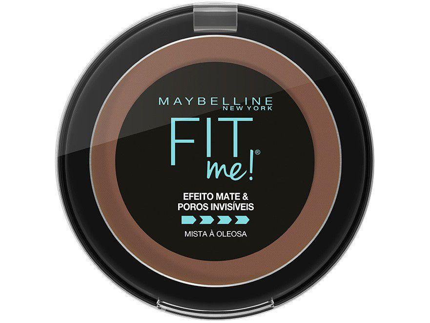 Pó Compacto Matte Maybelline Fit Me - R11 Marrom Escuro