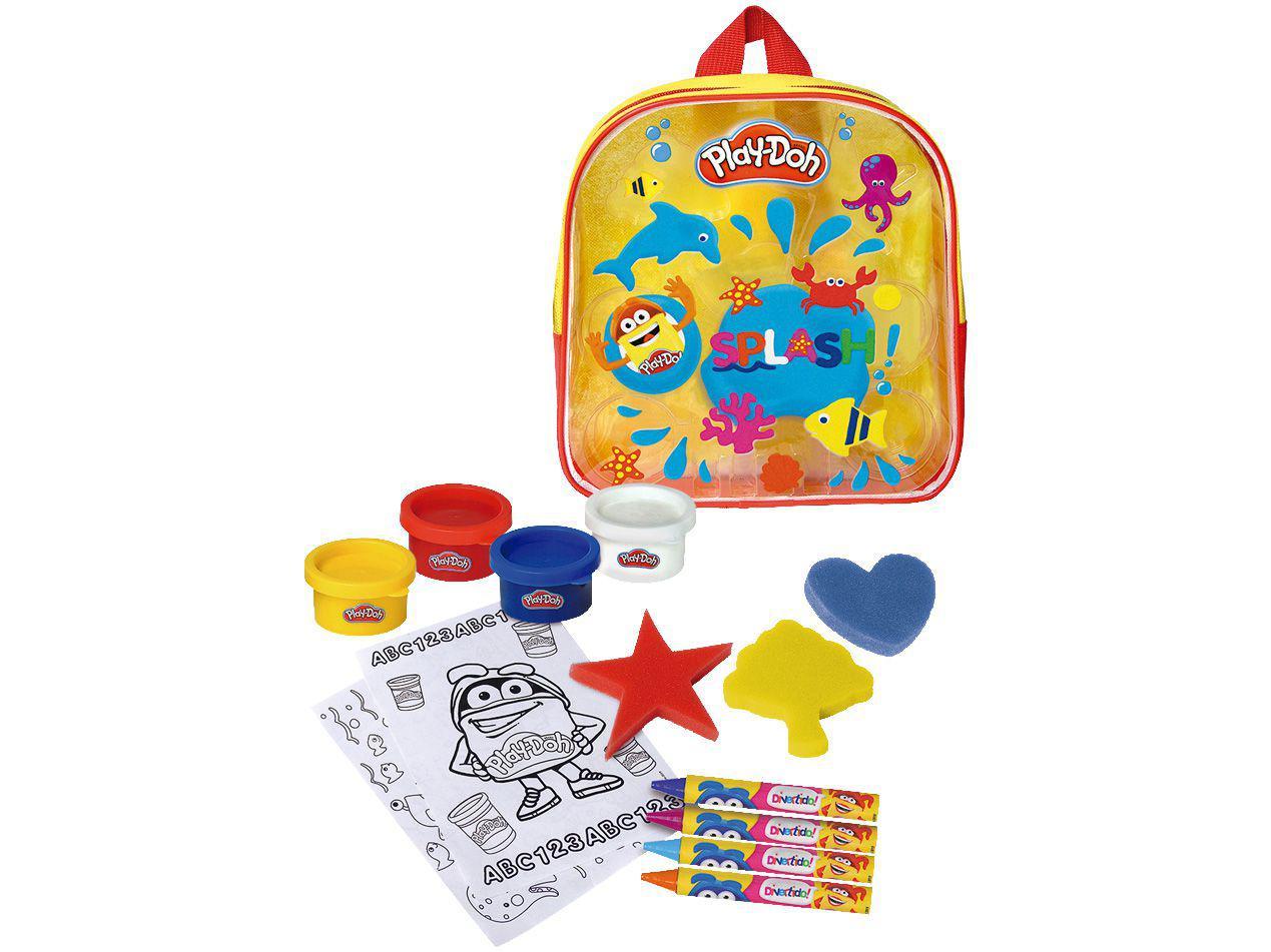 Kit de Pintura Play Doh - Mochila Criativa de Atividades Fun