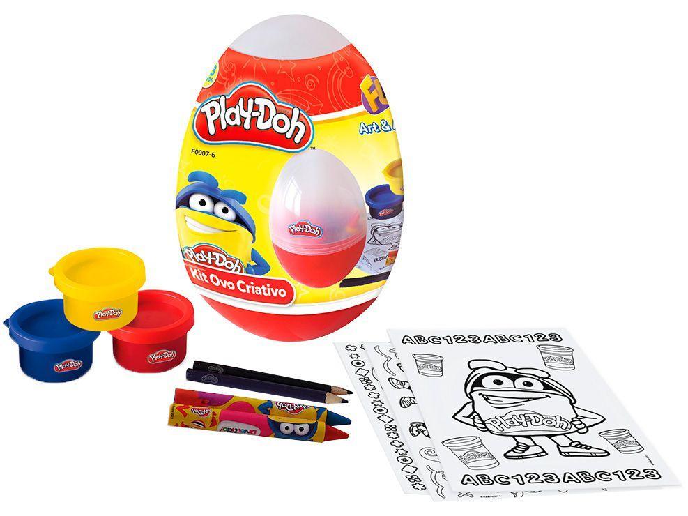 Kit de Pintura Ovo Criativo com Acessórios - Play-Doh