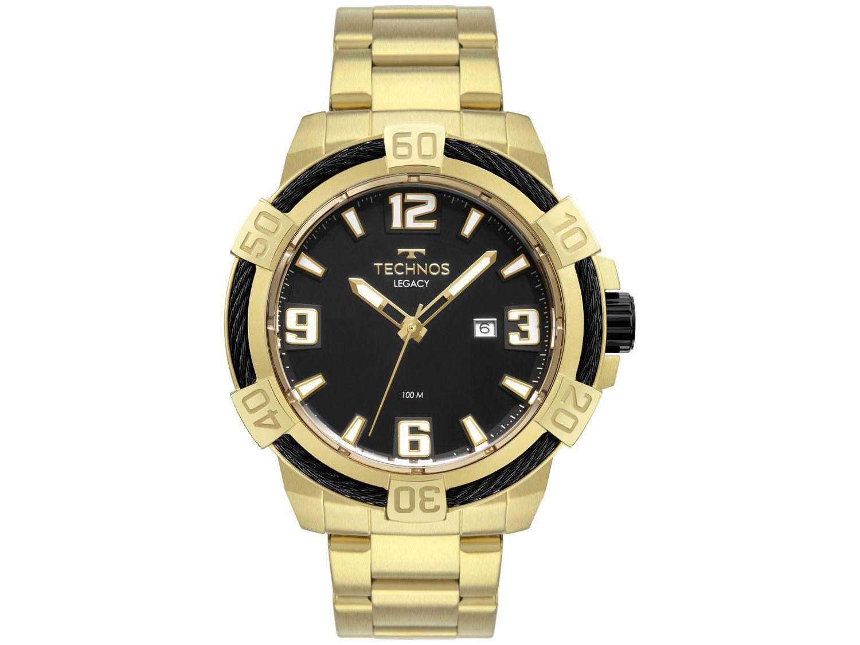 Relógio Masculino Analógico Technos Legacy - 2317AD/1P Dourado
