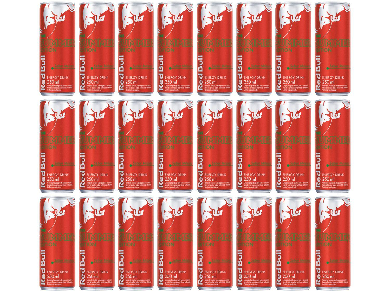 Bebida Energética Red Bull Summer Edition Melancia - 250ml 24 Unidades