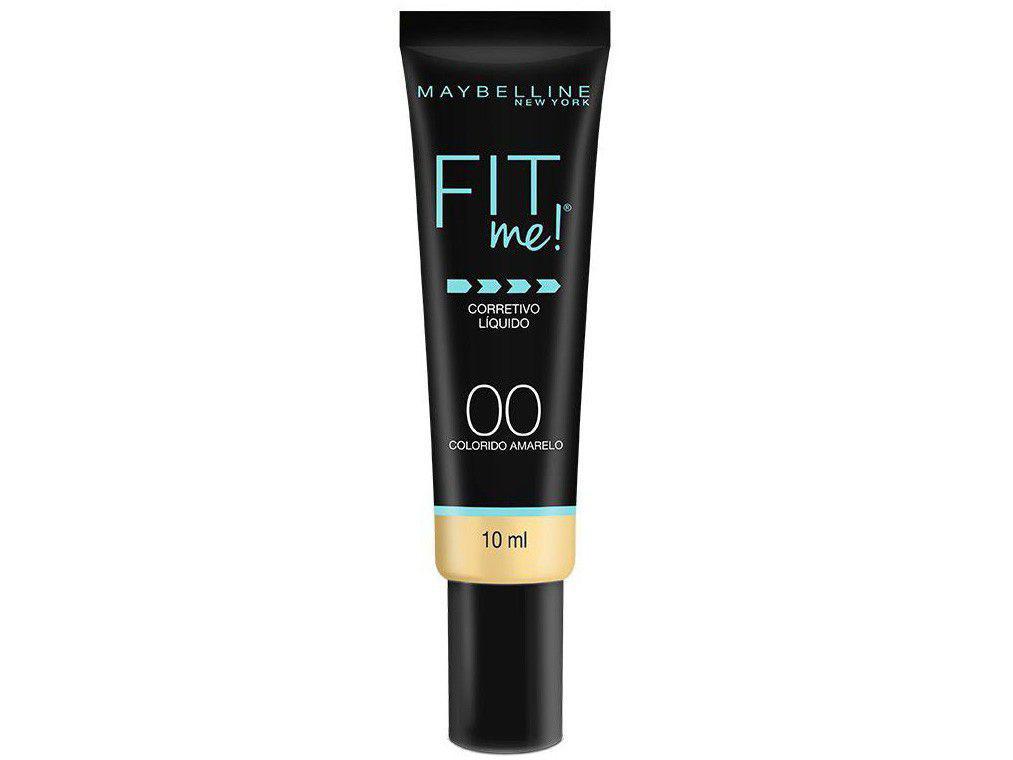 Corretivo Facial Líquido Maybelline Fit Me! - 00 Amarelo 10ml