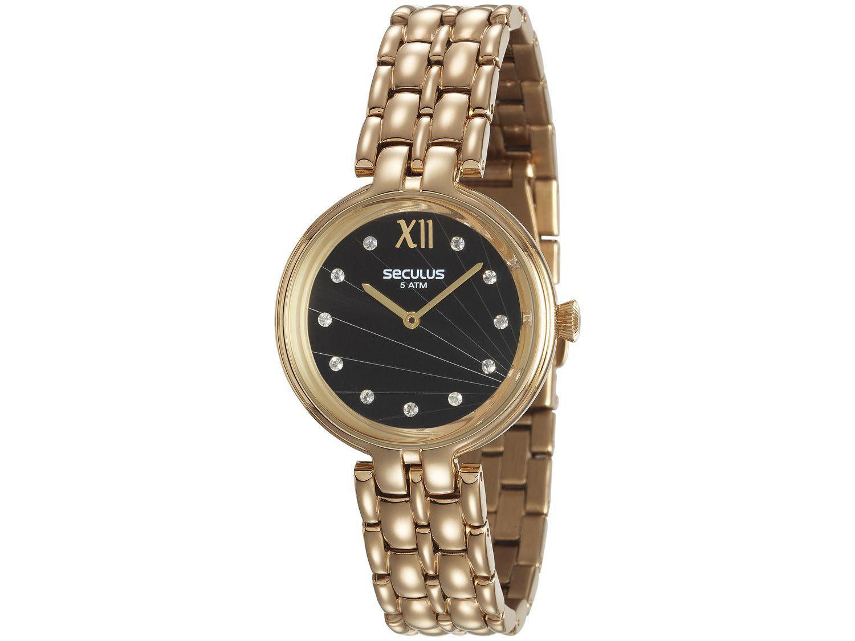 Relógio Feminino Seculus Analógico - 13022LPSVDS2 Dourado