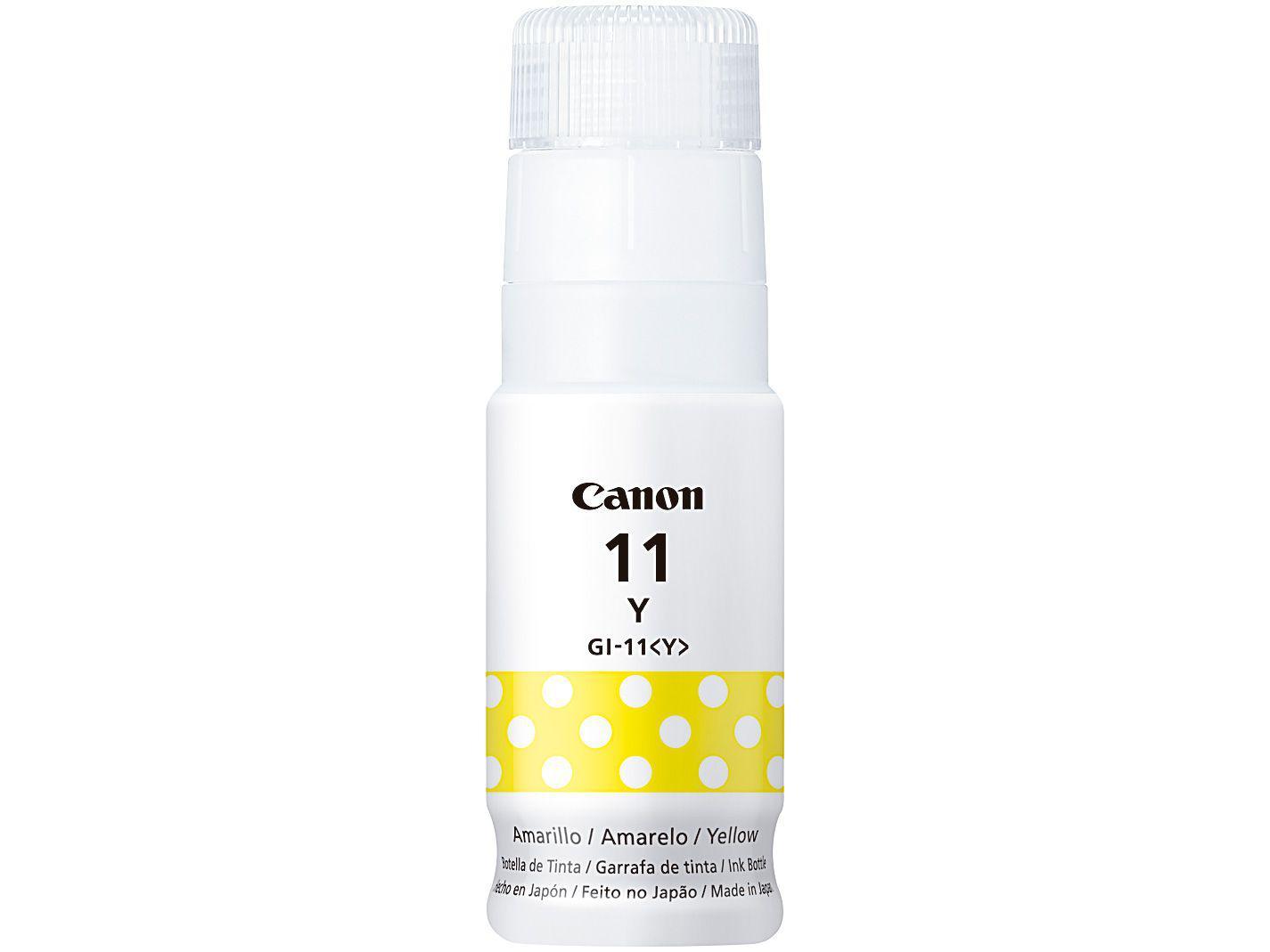 Refil de Tinta Canon GI-11 YW - Amarelo