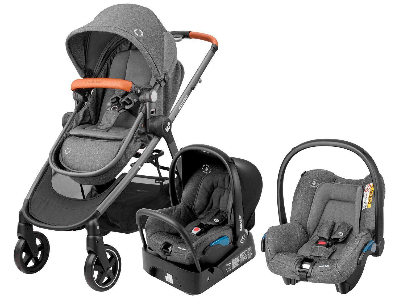 Carrinho de Bebê com Bebê Conforto Maxi-Cosi - Travel System Anna 0 a 15Kg