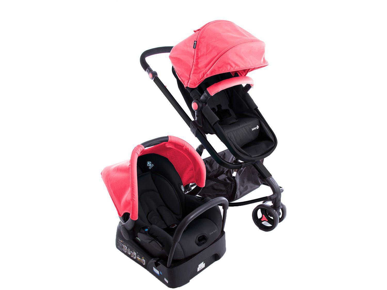 Carrinho de Bebê com Bebê Conforto Safety 1st - Travel System Mobi 0 a 15kg