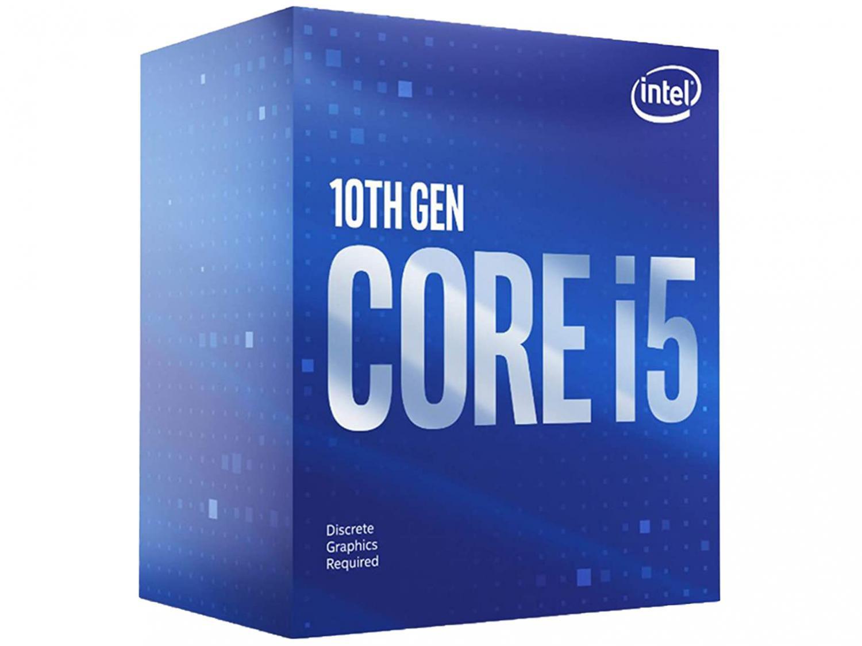 Processador Intel Core i5 10400F 2.90GHz - 4.30GHz Turbo 12MB