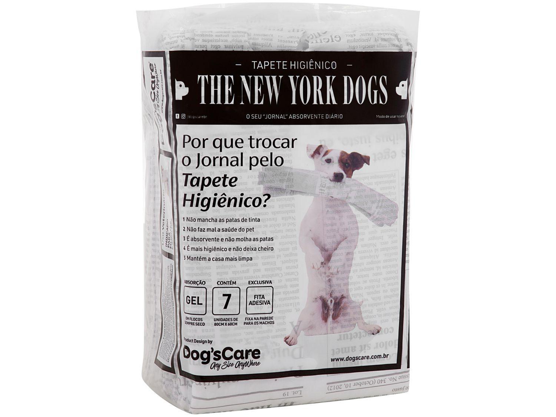 Tapete Higiênico Dogs Care The New York Dogs - 80x60cm 7 Unidades