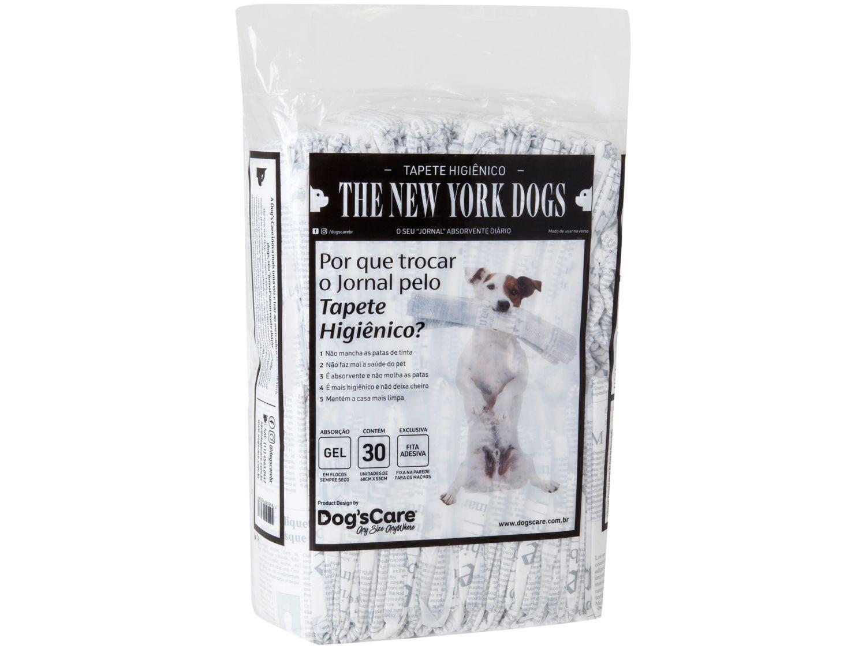 Tapete Higiênico Dogs Care The New York Dogs - 60x55cm 30 Unidades