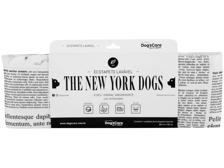 Tapete Higiênico Lavável Dogs Care - The New York Dogs 88x58cm