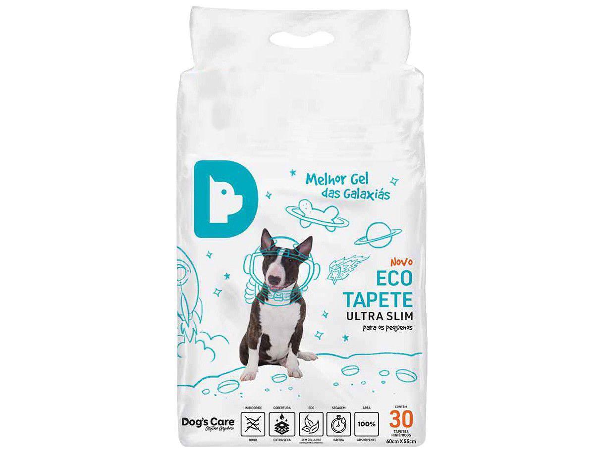 Tapete Higiênico Dogs Care Ultra Slim - 60x55cm 30 Unidades