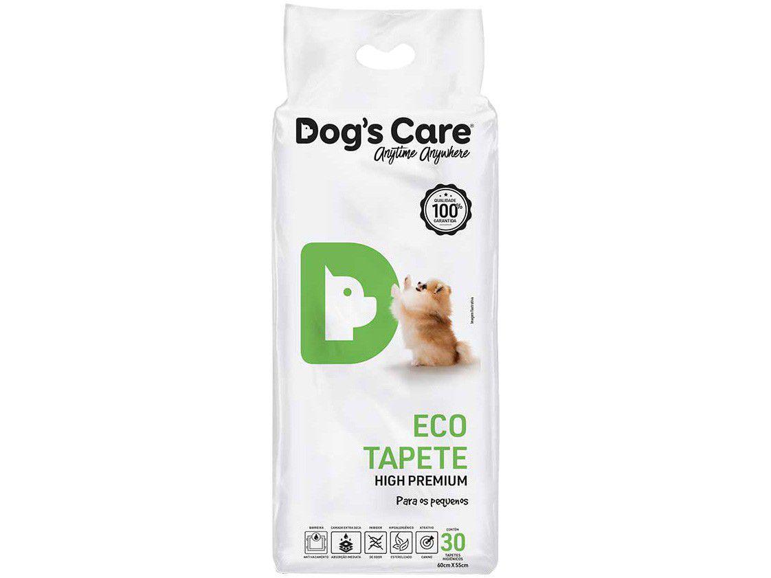 Tapete Higiênico Dogs Care High Premium - 60x55cm 30 Unidades