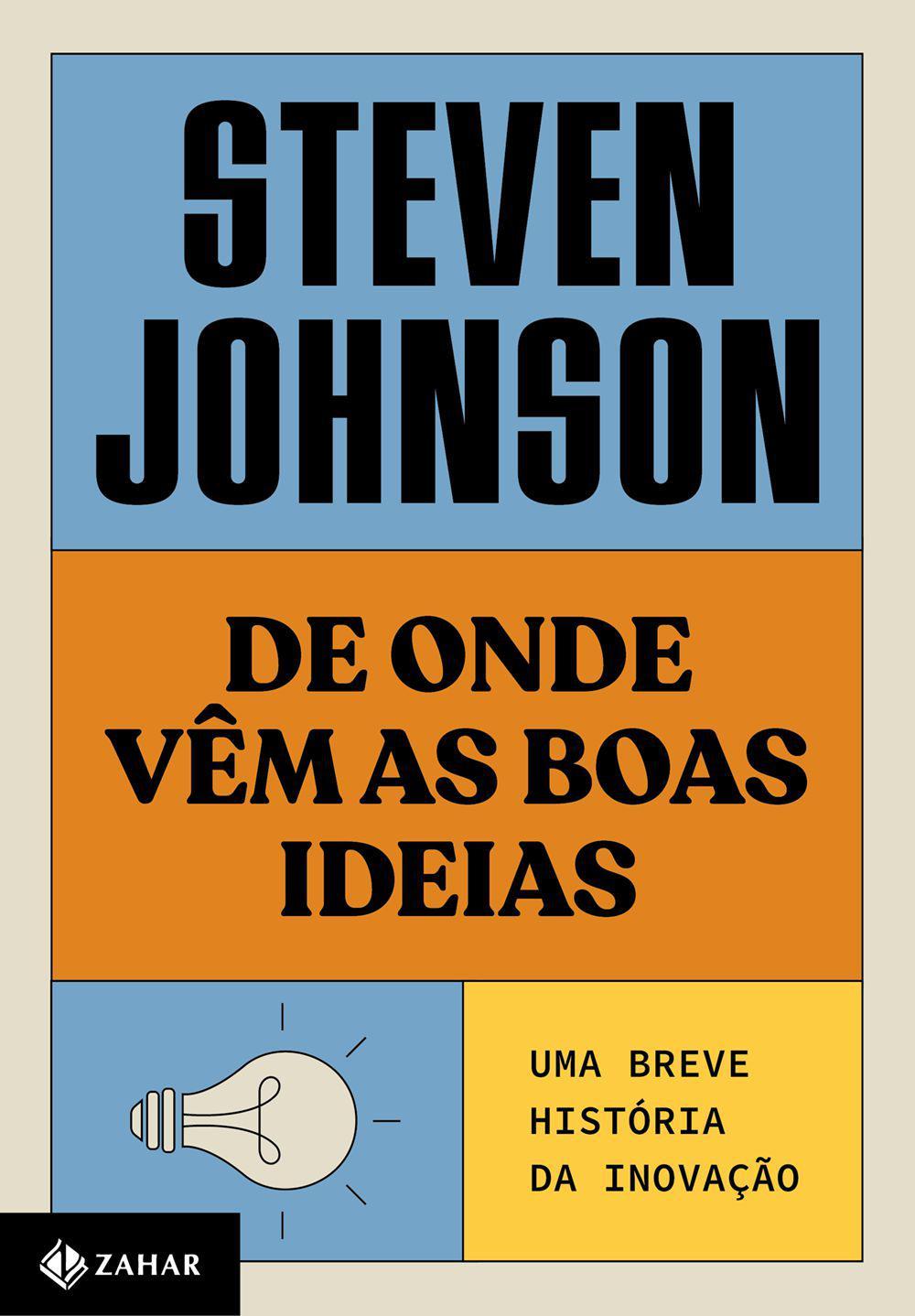 Livro - De onde vêm as boas ideias (Nova edição)