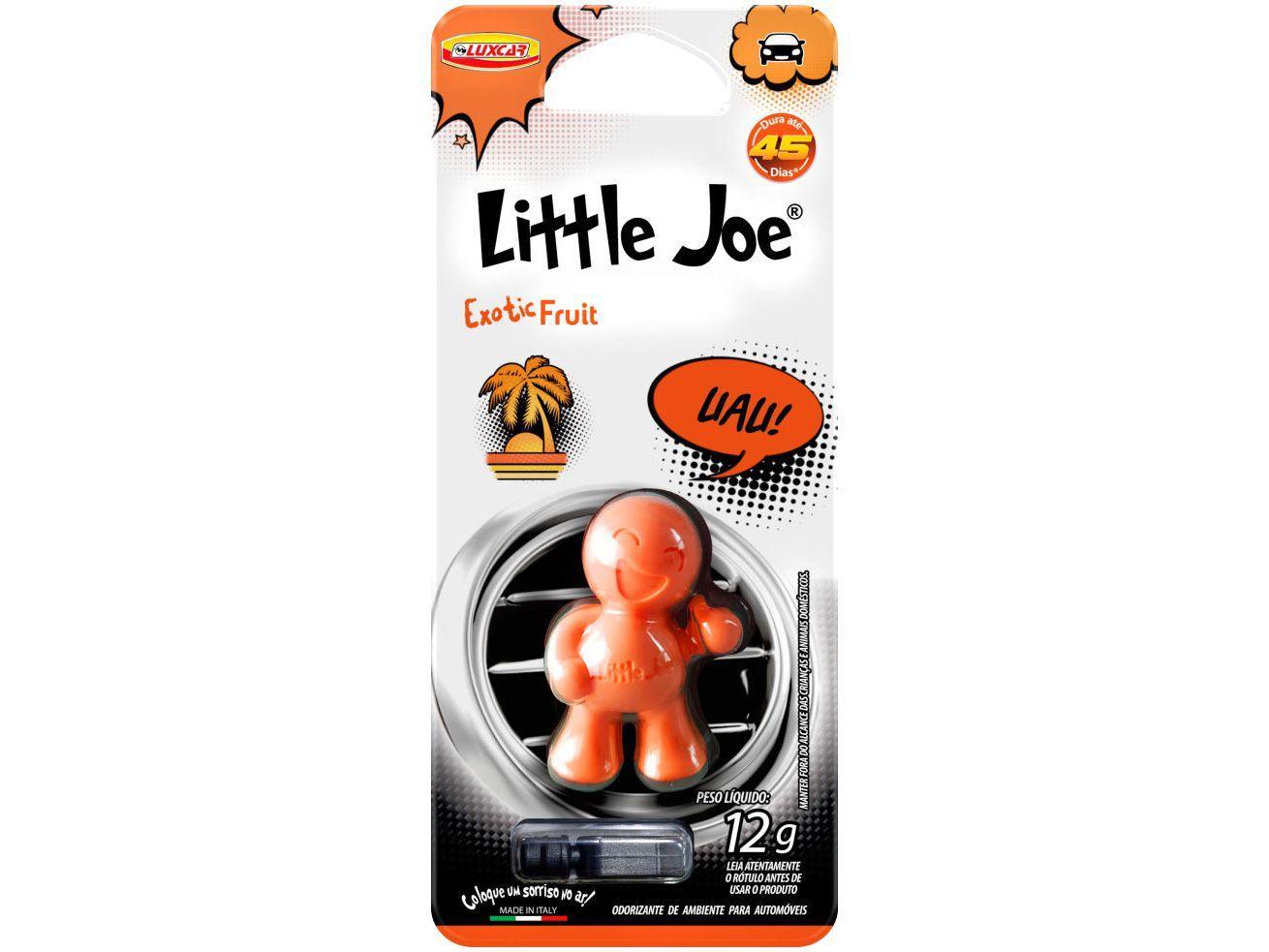 Odorizador Automotivo Plástico Injetado Luxcar - Little Joe Exotic Fruit