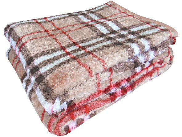 Cobertor Casal Jolitex Microfibra 100% Poliéster - Dyuri Budbery Bege