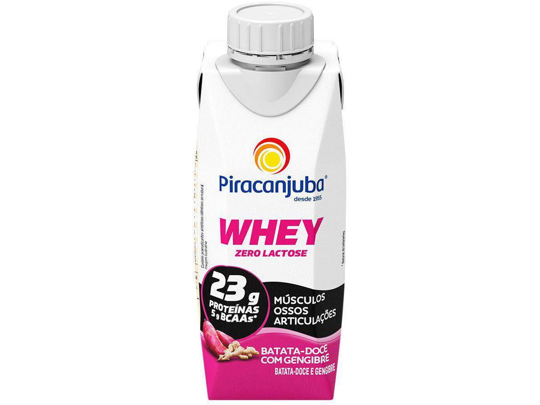 Bebida Láctea Piracanjuba Zero Lactose Whey - Batata Doce com Gengibre 250ml