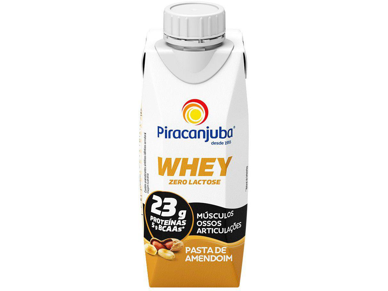 Bebida Láctea Piracanjuba Zero Lactose Whey - Pasta de Amendoim 250ml