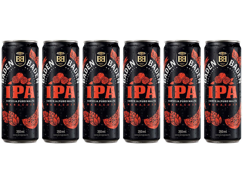 Cerveja Baden Baden American IPA Ale 6 Unidades - Lata 350ml