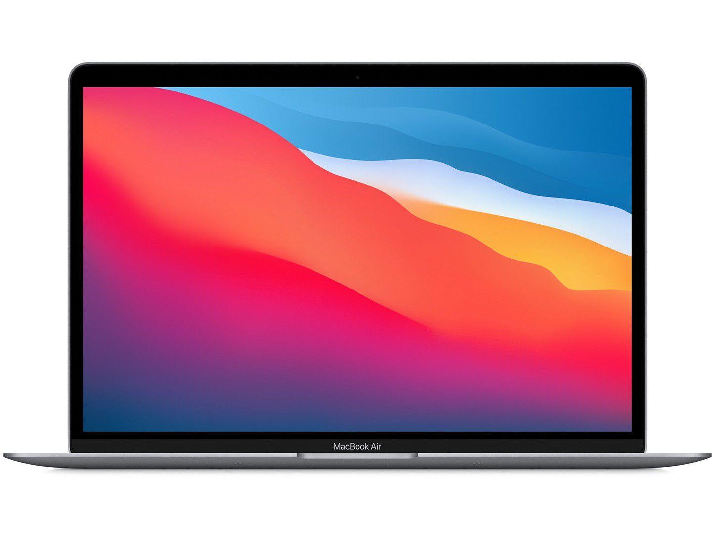 "Macbook Air 13,3"" Apple M1 8GB - 256GB SSD Cinza-espacial"