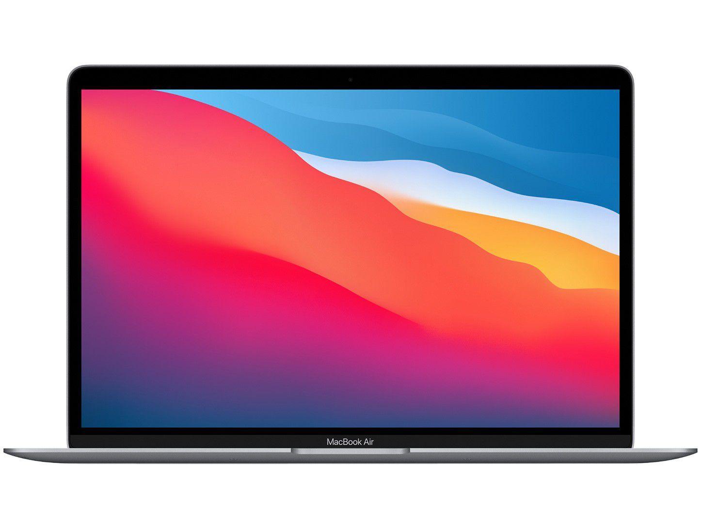 "Macbook Air 13,3"" Apple M1 8GB - 512GB SSD Cinza-espacial"