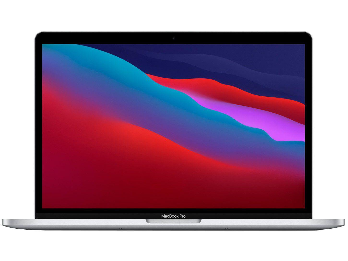 """Macbook Pro 13,3"""" Apple M1 8GB - 512GB SSD Prateado"""