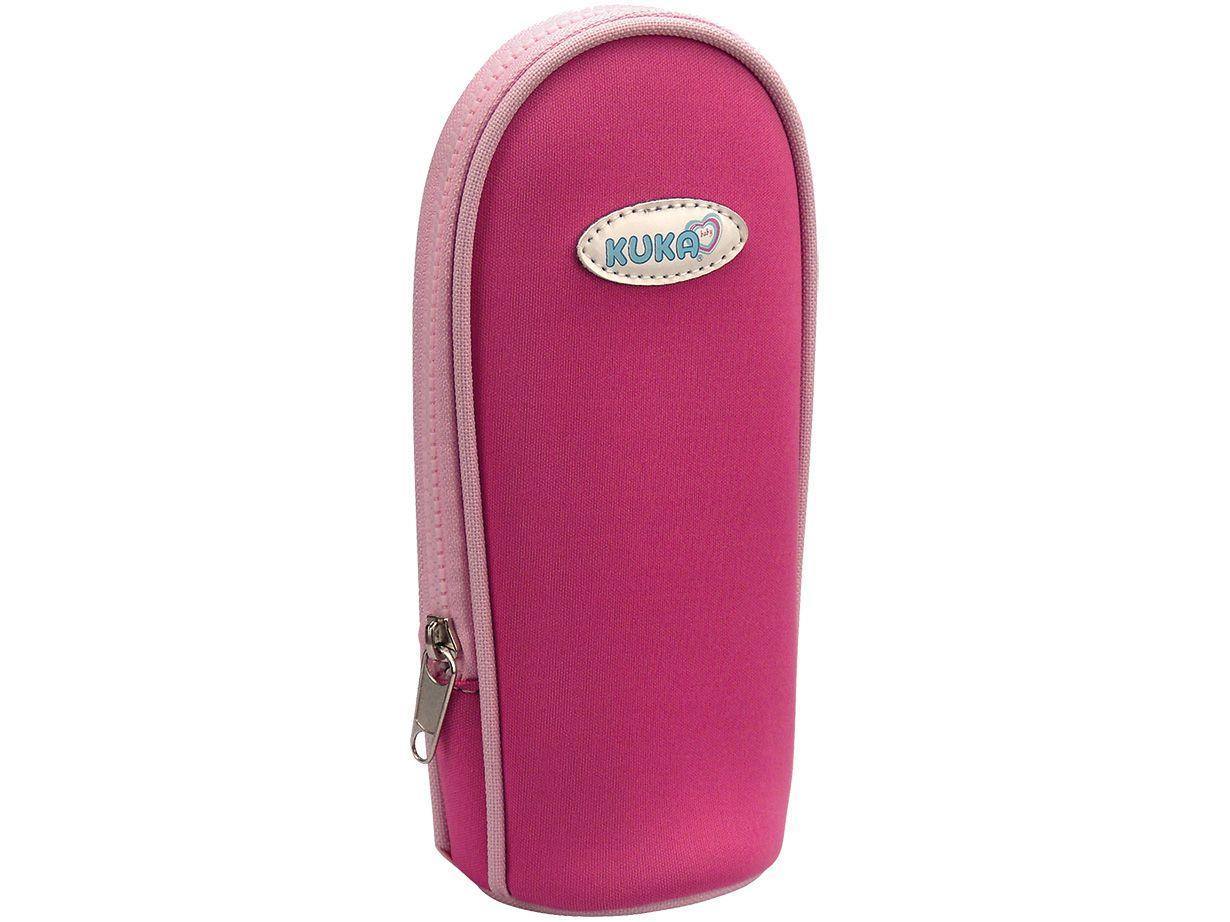 Bolsa Térmica para Mamadeira Kuka Color Rosa