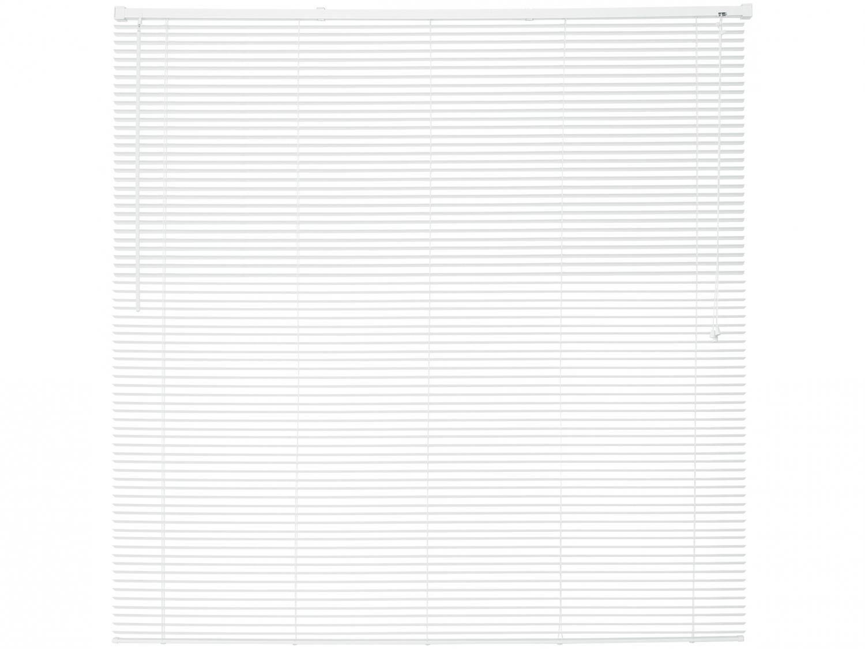Persiana Horizontal PVC Branca 160x160cm - Evolux D113183A