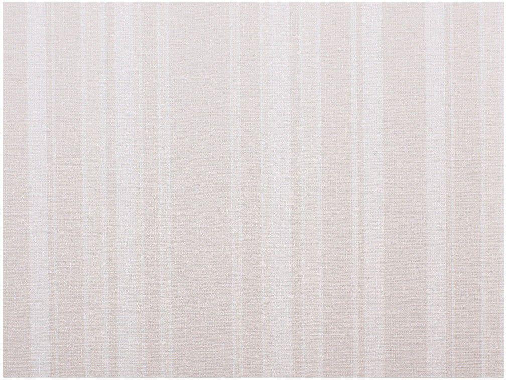 Papel de Parede Bege Listrado Vinílico - Evolux 53x1000cm
