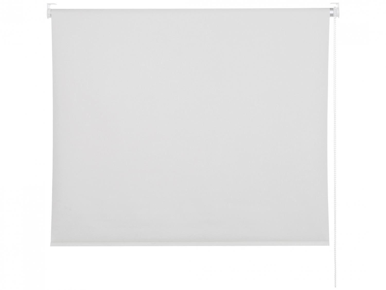 Persiana Rolô Tecido Blackout Branca 180x220cm - Evolux