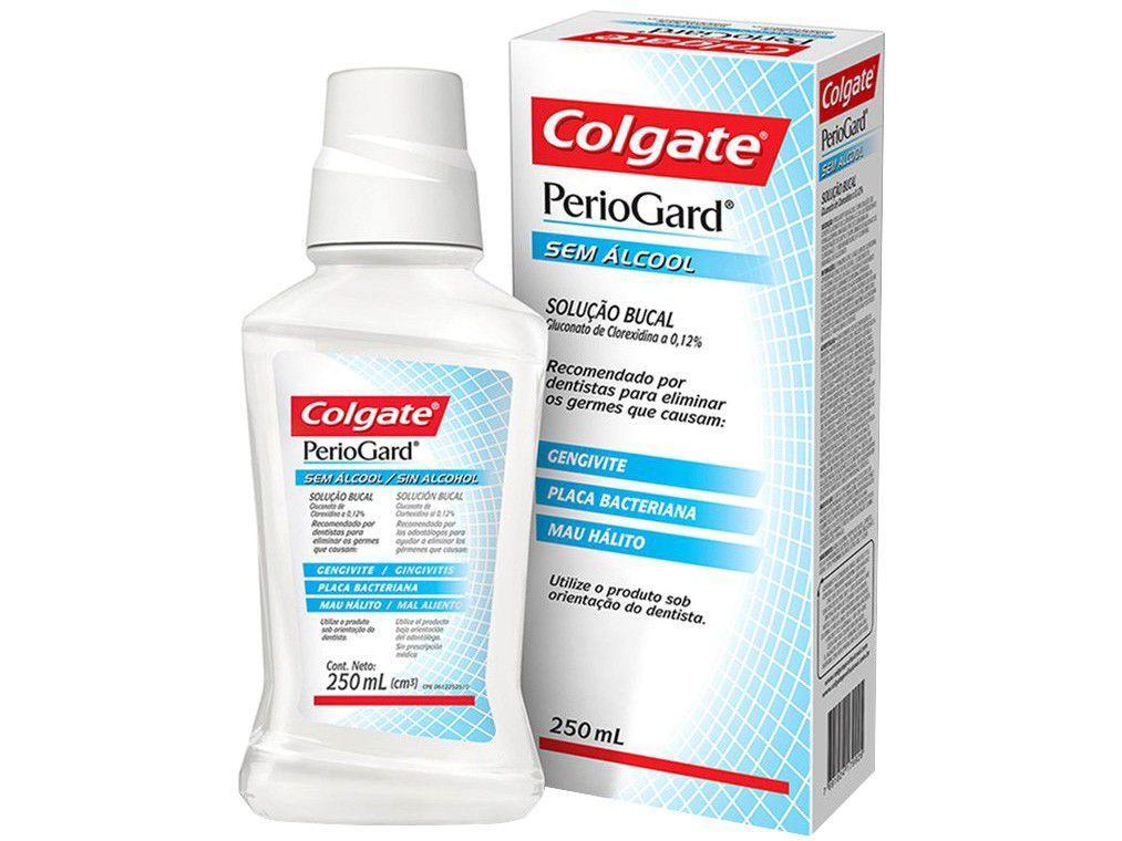 Antisséptico Bucal Colgate Sem Álcool PerioGard - 250ml