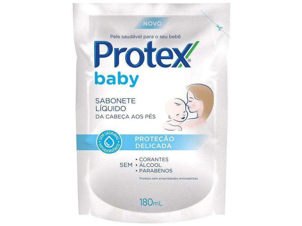 Sabonete Líquido Infantil Protex Baby Refil 180ml