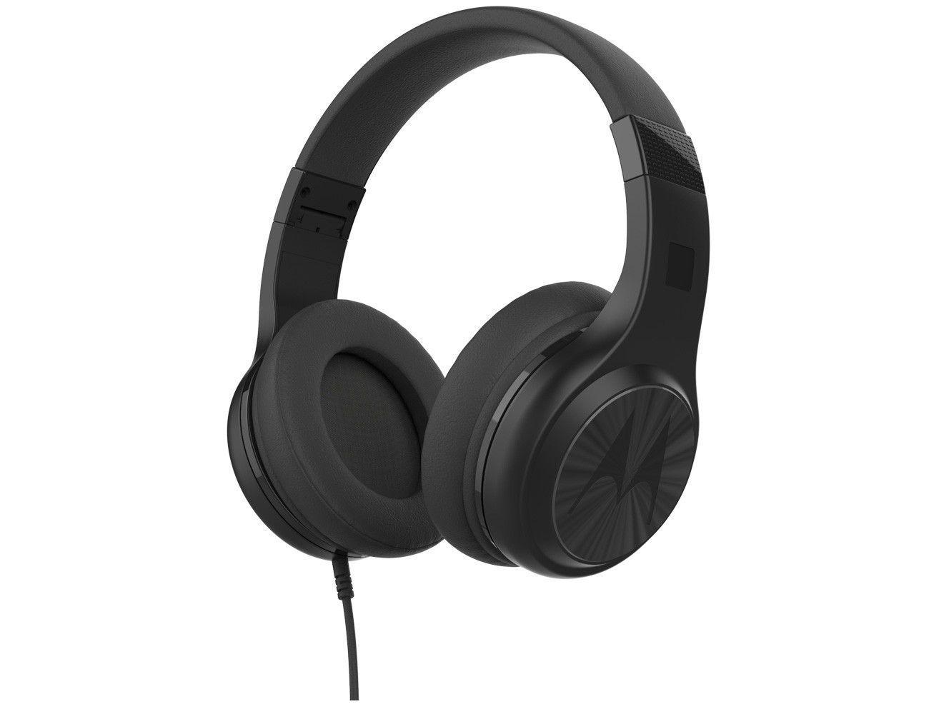 Headphone Esportivo Motorola Pulse 120 - com Microfone Preto