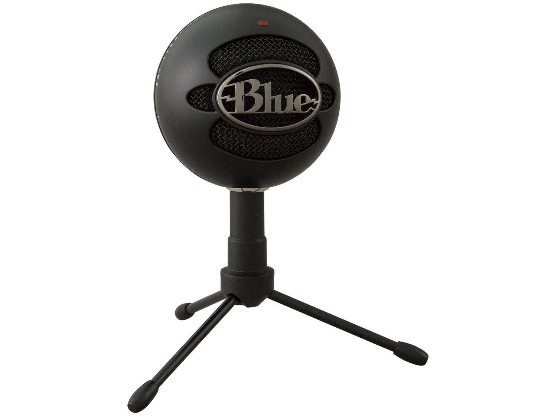 Microfone Condensador Streaming Blue - Snowball Ice USB com Tripé
