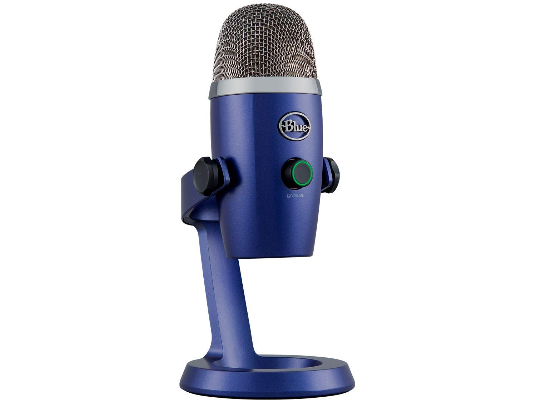 Microfone Condensador Streaming Blue - Yeti Nano USB