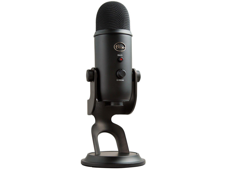 Microfone Condensador Streaming Blue Yeti USB