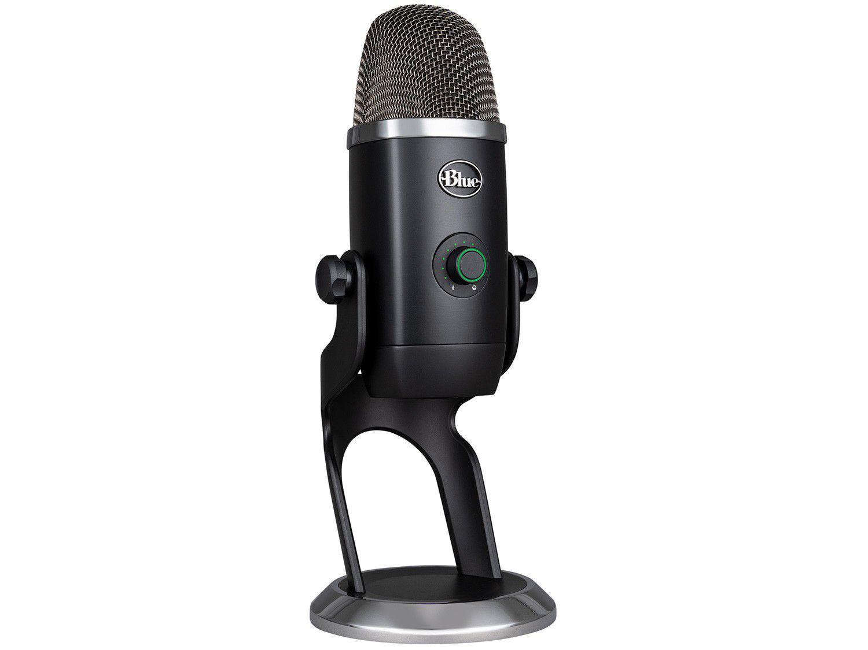 Microfone Condensador Blue Yeti X USB