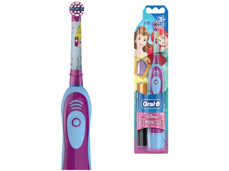 Escova de Dente Infantil Elétrica Oral-B - Disney Princess com 2 Pilhas AA
