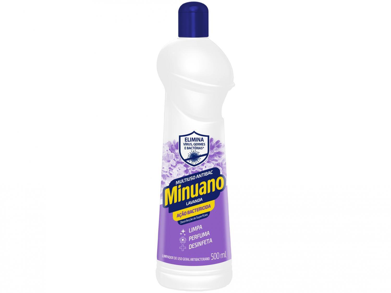 Limpador Multiuso Minuano Multiuso Antibac - Lavanda 500ml
