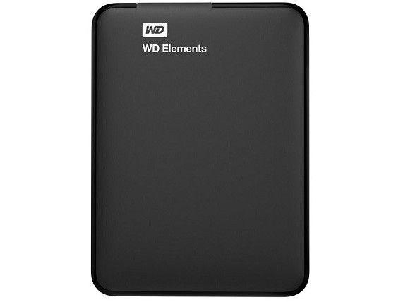 HD Externo 1TB Western Digital Elements USB 3.0